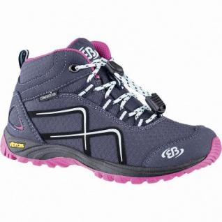 Brütting Guide High Mädchen Nylon Comfortex Outdoor Schuhe marine, Textilfutter, auswechselbare Textileinlegesohle, 4441102