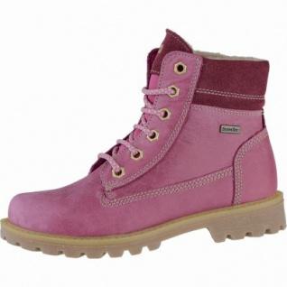 Richter Mädchen Leder Winter Tex Boots fuchsia, Warmfutter, warmes Fußbett, mittlere Weite, 3739197/36