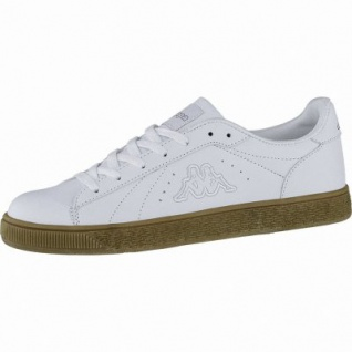 Kappa Meseta RB modische Herren Synthetik Sneakers white, weiche Sneaker Laufsohle, 4240122/43