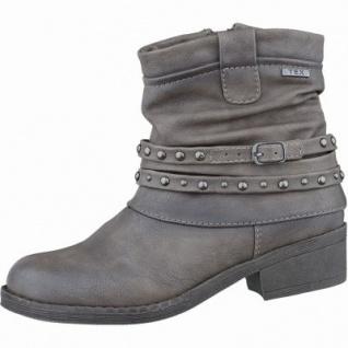 Indigo sportliche Mädchen Synthetik Tex Stiefel stone, leichtes Warmfutter, warmes Fußbett, 3737169