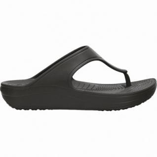 Crocs Crocs Sloane Platform Flip Damen Pantoletten black, Plateausohle, 4338111/36-37 - Vorschau 1