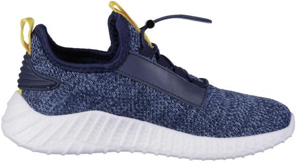 RICHTER Jungen Strick Sneakers atlantic, mittlere Weite, softes Leder Fußbett - Vorschau 3