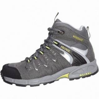 Meindl Snap Jr Mid Jungen Mesh Outdoor Schuhe anthrazit, Clima+Nässeschutz-Futter, 4428148 - Vorschau 1