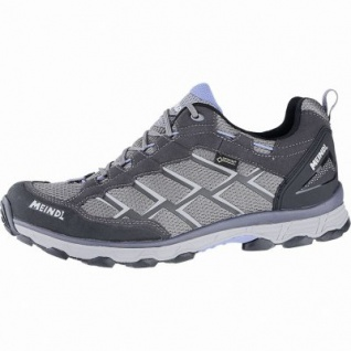 Meindl Activo GTX Herren Velour-Mesh Outdoor Schuhe anthrazit, Air-Active-Wellness-Sport-Fußbett, 4440115
