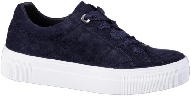 LEGERO Damen Leder Sneakers oceano, Comfort Weite G, Leder Fußbett