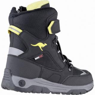 Kangaroos Lero EV RTX coole Jungen Winter Synthetik Tex Stiefel schwarz, 14 cm Schaft, Fleecefutter, warme Decksohle, 3741248/37 - Vorschau 2