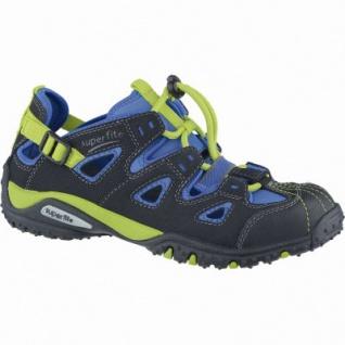 Superfit coole Jungen Synthetik Sneakers schwarz, Superfit Fußbett, mittlere Weite, 3338160/33