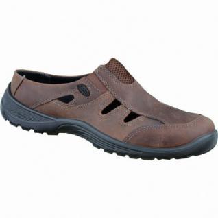 Jomos Herren Leder Clogs capuccino, herausnehmbares Fußbett, 2332109/40