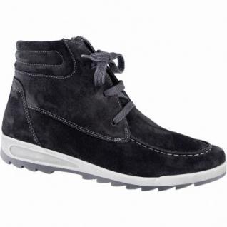 Ara Rom Sport-St Damen Leder Winter Sneakers schwarz, Comfort Weite G, Warmfutter, ARA Fußbett, 1639317