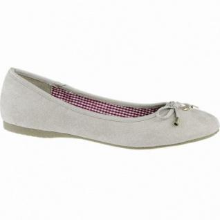 Jane Klain softe Damen Synthetik Ballerinas stone, gepolsterte Super Soft-Decksohle, 1040142