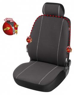 Serie Modulo ZIPP IT Polyester Autositzbezug Vordersitzbezug 2-teilig schwarz...