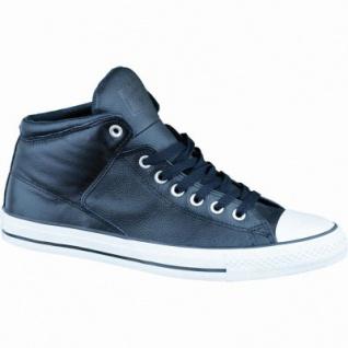 Converse CTAS Chuck Taylor All Star High Street Leather Damen und Herren Leder Chucks black/white, 1236219