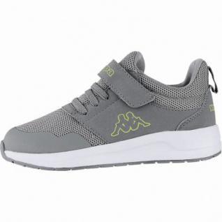 promo code 68dd3 24488 Kappa Tray II Sun K coole Jungen Textil Sneakers grey, Kappa Fußbett,  Sneaker Laufsohle, 4240109/33