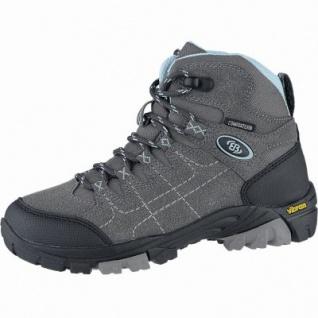 Brütting Mount Shasta Kids High Mädchen, Jungen Synthetik Trekking Schuhe anthrazit, Comfortex Klimamembrane, 4440120/31