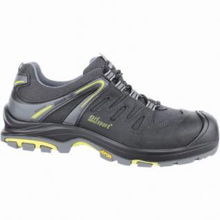 Grisport Mugello S3 Herren Mesh Sicherheits Schuhe schwarz, DIN EN 345/S3, 5530102/47