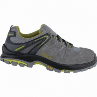 Grisport Misano Herren Leder Sicherheits Schuhe grey, DIN EN ISO 20345, 5337101/46