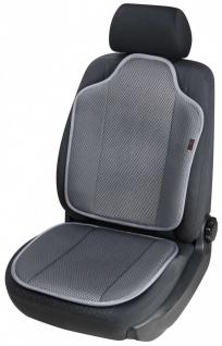 High Tec Universal Auto Sitzauflage Spacer anthrazit, 3D Spacer Füllung, 30 G...