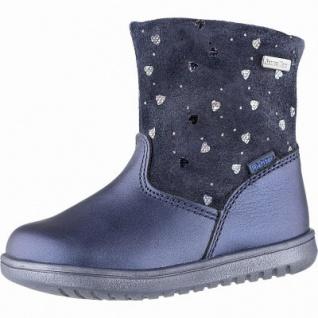 Richter coole Mädchen Leder Tex Boots atlantic, mittlere Weite, Warmfutter, warmes Fußbett, 3241128/22