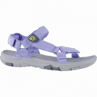 Jack Wolfskin Seven Seas 2 Sandal W Damen Polyester Outdoor Sandalen blue, Wolf Wind-Laufsohle, 1440225/5.0