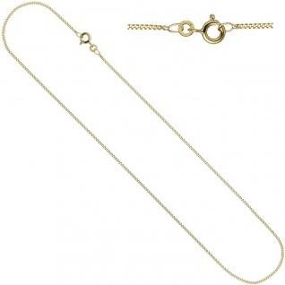 Anhänger Kleines Herz Herzchen 333 Gold mit Kette 45 cm Goldherz