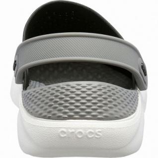 Crocs Lite Ride Clog superweiche + leichte Damen, Herren Clogs black, Massage Fußbett, 4342107/36-37 - Vorschau 2