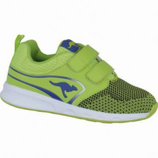 Kangaroos Ron I V Jungen Synthetik Sneakers lime, Kangaroos Fußbett, 4238112