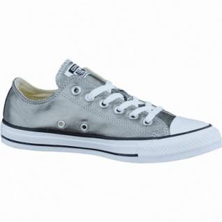Converse CTAS Canvas Metallic coole Damen Canvas Metallic Sneaker metallic herbal-white-black, Textilfutter, 1237131/36