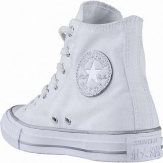 Converse CTAS - Metallic Toecap - HI coole Damen Canvas Metallic Sneakers white, Converse Laufsohle, 1240116/41 - Vorschau 2