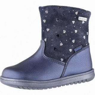 Richter coole Mädchen Leder Tex Boots atlantic, mittlere Weite, Warmfutter, warmes Fußbett, 3241128/23