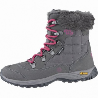 Brütting Himalaya Kids coole Mädchen Nylon Winter Boots grau, Warmfutter, warme Einlegesohle. 4539108/36