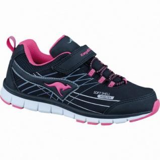 689b2f513aa655 Kangaroos Chupit Mädchen Soft Shell Roos Tex Sneakers black