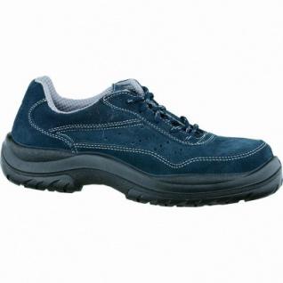 FTG Eagle Blue S1 SRC Damen, Herren Leder Sicherheits Halbschuhe blau, Arbeitsschuhe, 5333102/38