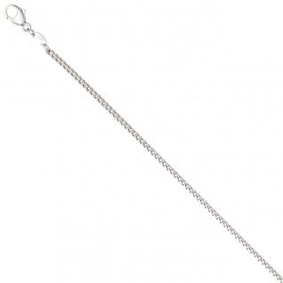 Bingokette 585 Weißgold 1, 5 mm 50 cm Gold Kette Halskette Weißgoldkette