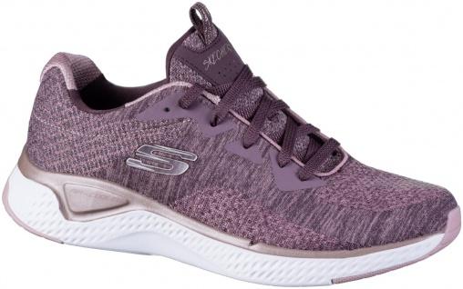 SKECHERS Solar Fuse Damen Sneakers mauve, Strickmaterial, Air Cooled Memory F...