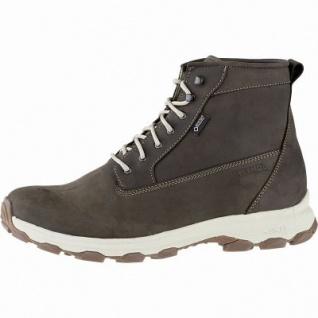 Meindl Vancouver GTX Herren Leder Boots braun, Lederfußbett + Lammfellfußbett, Gummiprofilsohle, 4441117/8.5