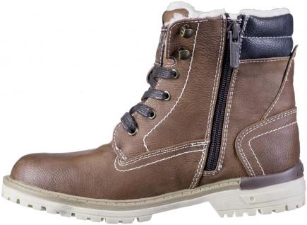 MUSTANG Jungen Winter Synthetik Tex Boots kastanie, Warmfutter, warme Decksohle - Vorschau 3
