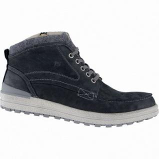Josef Seibel Emil 11 Herren Leder Winter Boots schwarz, Warmfutter, Fußbett, 2539182/45