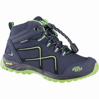 Brütting Guide High Jungen Nylon Comfortex Outdoor Schuhe marine, Textilfutte...