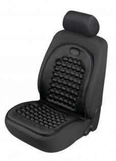 sportliche Universal Polyester Auto Sitzauflage Magnet Noppi schwarz, 30 Grad waschbar, für alle PKW