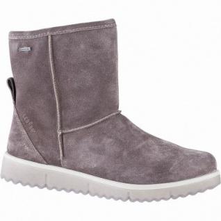 Legero Damen Leder Winter Boots dark clay, 14 cm Schaft, Warmfutter, warmes Fußbett, Gore Tex, Comfort Weite G, 1741136/7.0