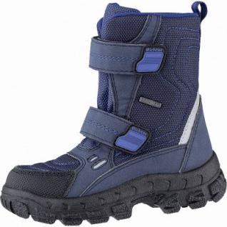 Richter Jungen Winter Tex Stiefel black, mittlere Weite, 13 cm Schaft, Warmfutter, warmes Fußbett, 3741234