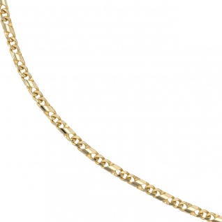 Halskette Kette 333 Gold Gelbgold massiv 45 cm Goldkette Karabiner