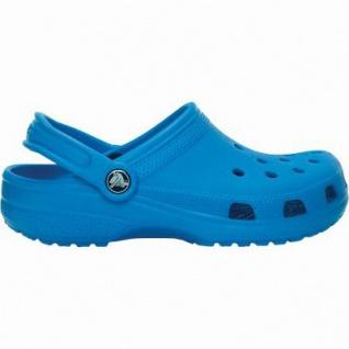 Crocs Classic Kids Mädchen, Jungen Crocs ocean, verstellbarer Fersenriemen, 4338118/23-24
