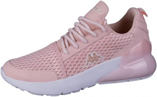 KAPPA Colp coole Damen Mesh Sneakers rose, Meshfutter, herausnehmbare Decksohle