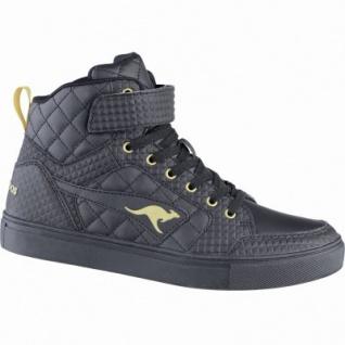 Kangaroos Prisma coole Damen Synthetik Winter Boots je black, molliges Warmfutter, warmes Fußbett, mit Tasche, 1639115/38