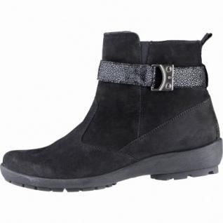 Waldläufer Holma 15 Damen Leder Winter Boots schwarz, Weite H, Warmfutter, lose Einlagen, 1739151