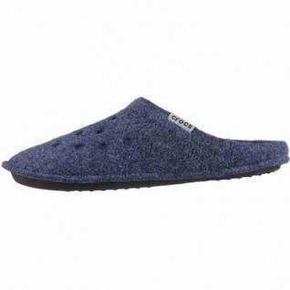 Crocs Classic Slipper Damen, Herren Winter Textil Hausschuhe navy, warmes Futter, 1939111/36-37