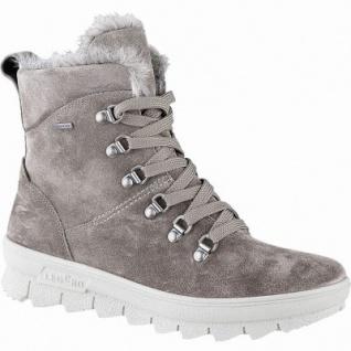 Legero Damen Leder Winter Stiefel bisonte, 13 cm Schaft, Warmfutter, warmes Fußbett, Gore Tex, Comfort Weite G, 1741135/6.5