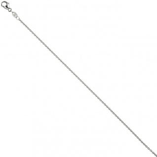 Ankerkette 950 Platin 1, 5 mm 70 cm Kette Halskette Platinkette Karabiner