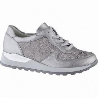 attraktive Mode am besten verkaufen sehen Waldläufer Hiroko 20 Damen Metallic Leder Sneakers taupe, Extra Weite H,  Leder Fußbett, für lose Einlagen, 1342145/4.5